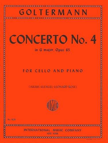Goltermann: Concerto No. 4 in G major. Opus 65