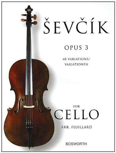 Sevcik: 40 Variations. Op. 3