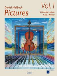 Pictures Vol. 1 für Violoncello und Klavier (+ CD)