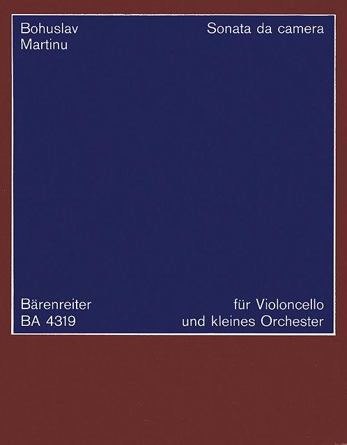 Martinu: Sonata da camera für Violoncello und Kammerorchester