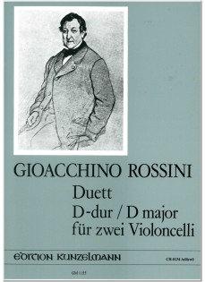 Rossini: Duett D-Dur