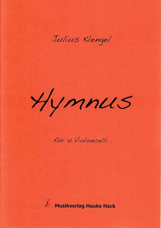 Klengel: Hymnus für 12 Violoncelli Großdruck