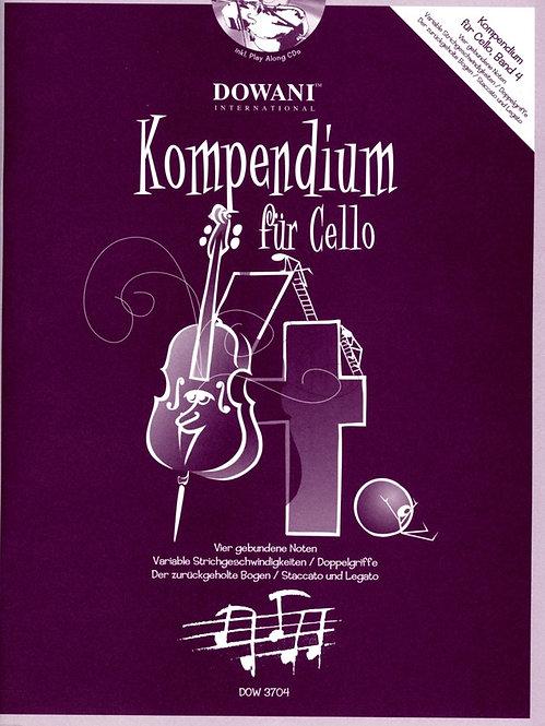 Kompendium für Cello Band 4 (+CD)