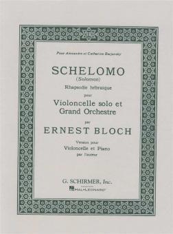 Bloch: Schelomo