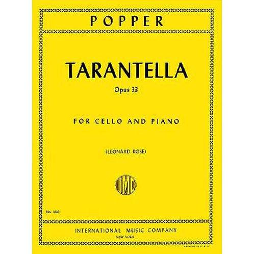 Popper: Tarantella op. 33