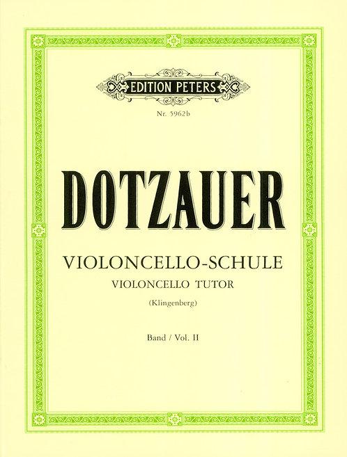 Dotzauer: Violoncello-Schule 2 (zweite bis fünfte Lage)
