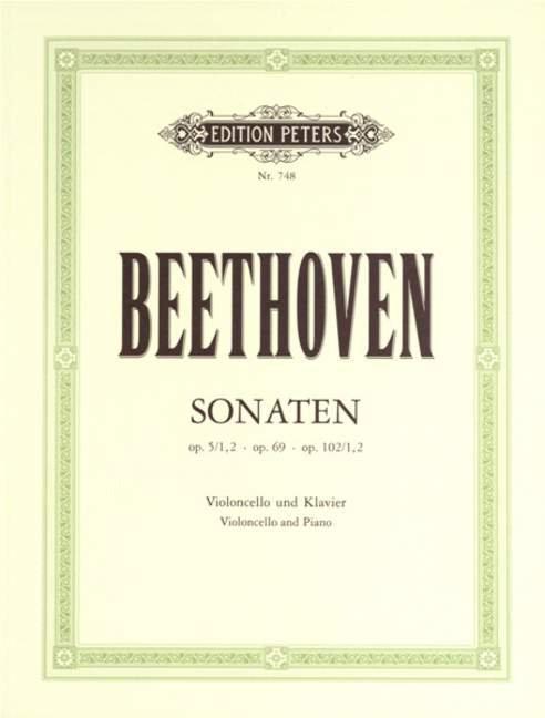 Beethoven: Cello-Sonaten