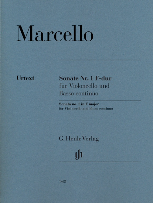 Sonate Nr. 1 F-dur für Violoncello und Basso continuo