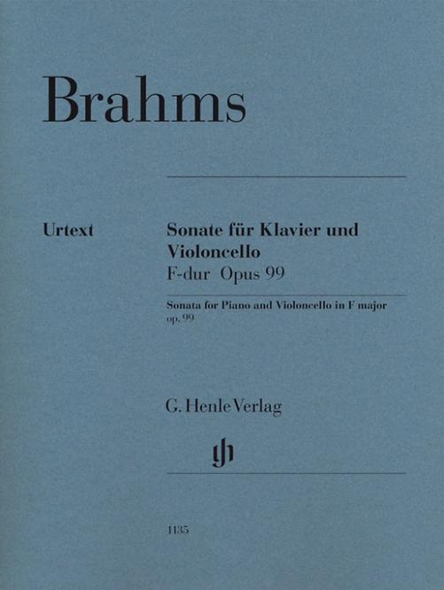 Brahms: Violoncellosonate F-dur op. 99