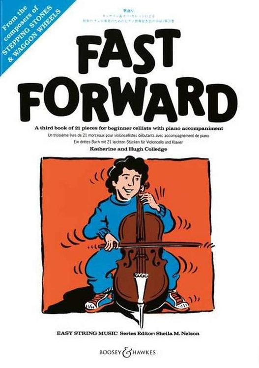 Fast forward for cello and piano