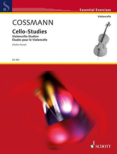 Cossmann: Violoncello-Studien für die Geläufigkeit der Finger...