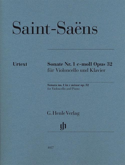 Saint-Saëns: Violoncellosonate Nr. 1 c-moll op. 32