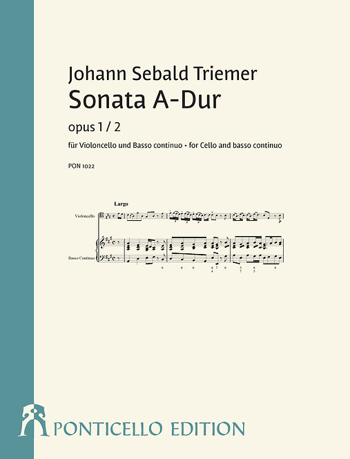 Triemer: Sonata A-Dur op. 1/2
