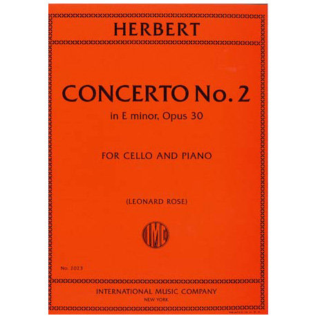 Herbert: Concerto No. 2 in E minor op. 30