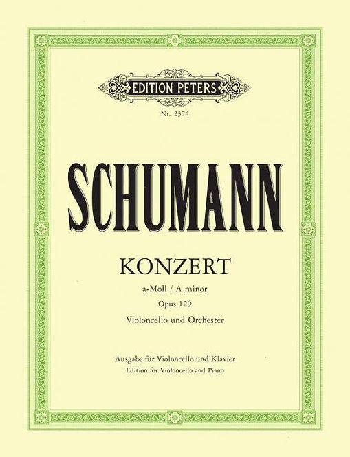 Schumann: Konzert für Violoncello und Klavier a-Moll op. 129