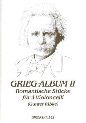 Grieg-Album II - Romantische Stücke für 4 Violoncelli