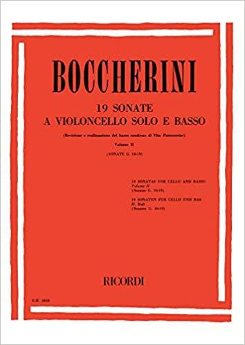Boccherini: 19 Sonatas Vol. 2: Nos 10-19