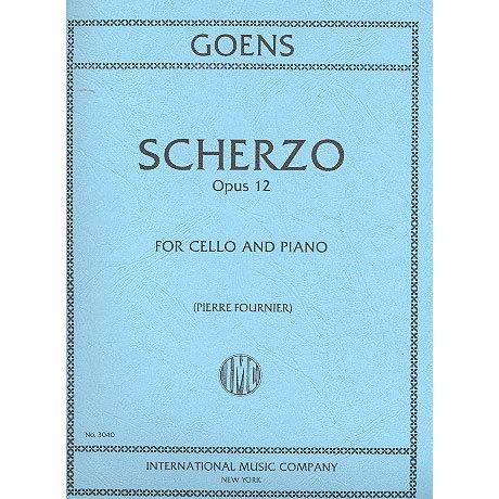 van Goens: Scherzo Op. 12