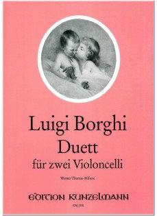 Borghi: Duett für 2 Violoncelli