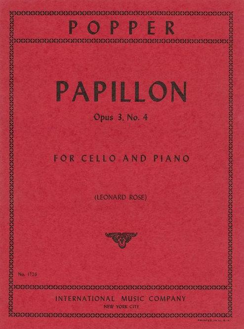 Popper: Papillon op. 3 no. 4