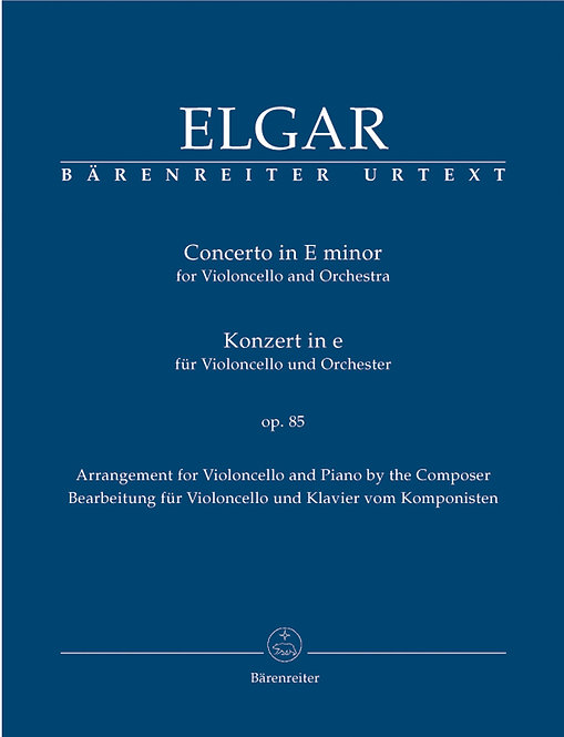 Elgar: Konzert für Violoncello und Orchester e-Moll op. 85
