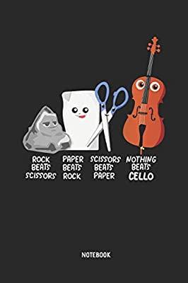 """Nothing Beats Cello"" - Notizbuch"