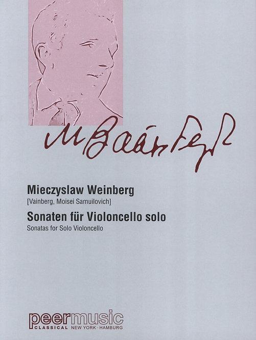 Weinberg: Sonaten für Violoncello solo (1960-1985)