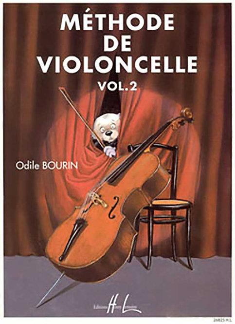 Bourin: Méthode de violoncelle Vol. 2