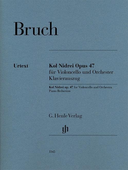 Bruch: Kol Nidrei op. 47 für Violoncello und Orchester