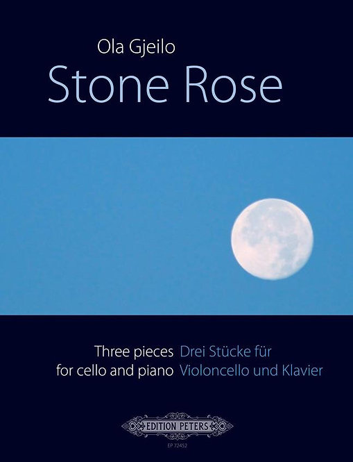 Stone Rose - Three Pieces for Cello and Piano