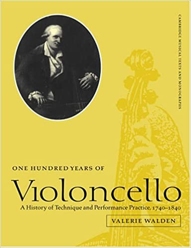 One Hundred Years of Violoncello. (...)