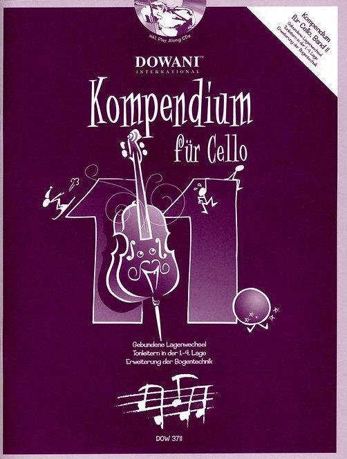 Kompendium für Cello Band 11 (+CD)