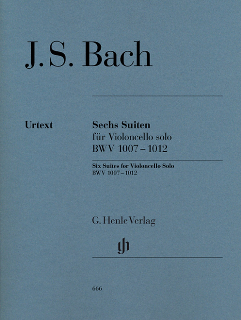 Sechs Suiten BWV 1007-1012 für Violoncello solo