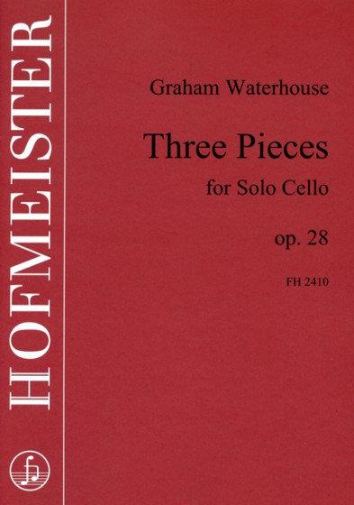 Three pieces, op. 28