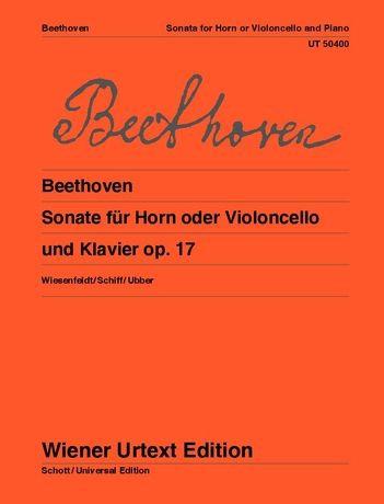 Beethoven: Sonate für Horn oder Violoncello und Klavier
