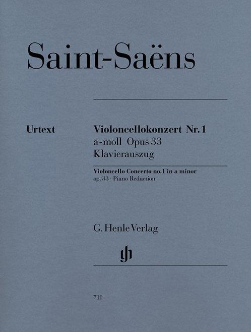 Saint-Saëns: Violoncellokonzert Nr. 1 a-moll op. 33
