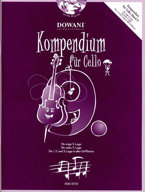 Kompendium für Cello Band 9 (+CD)