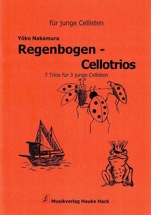 Nakamura: Regenbogen-Cellotrios 7 Trios für 3 junge Cellisten