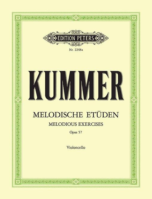 Kummer: Zehn melodische Etüden op. 57