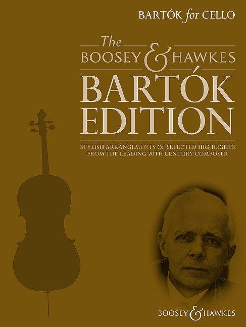 Bartók for Cello (+ CD)