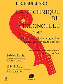 Feuillard: Technique du violoncelle Vol.7