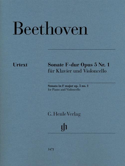 Beethoven: Violoncellosonate F-dur op. 5 Nr. 1