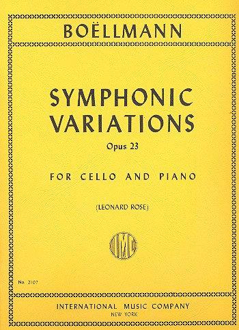 Boellmann: Symphonic Variations. Op. 23