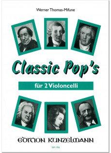 Classic Pop's für 2 Violoncelli