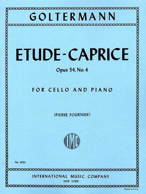 Goltermann: Etude-Caprice. Opus 54. No. 4