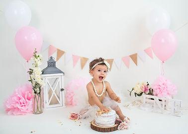 Pink and Pearls Cake Smash