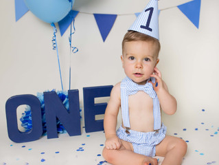Rory is 1 | Cake Smash Session | Savannah Children and Family Photography