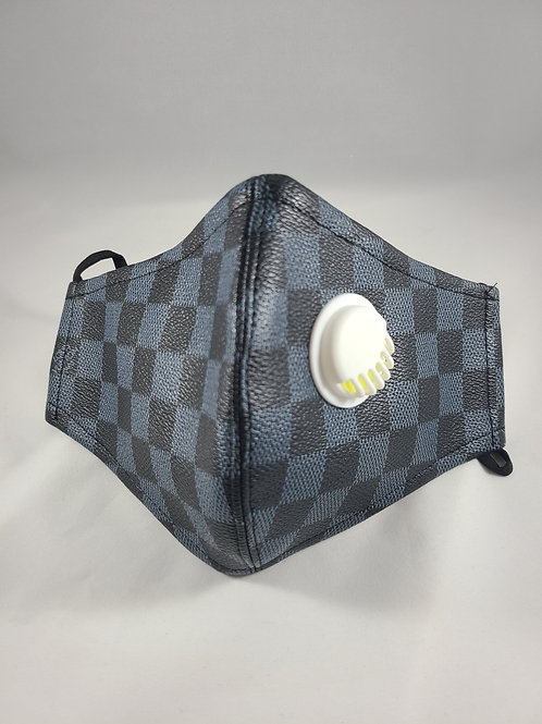 Black Checkered Mask