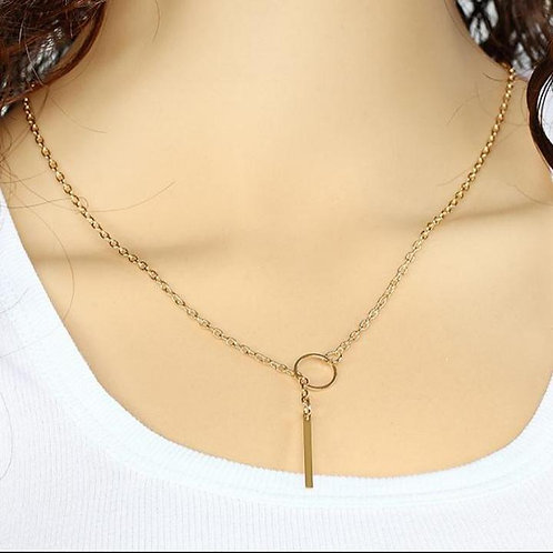 Y-Shaped Necklace