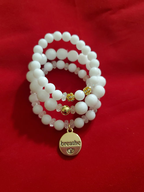 Breathe Stacked Bracelet Set